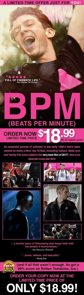 BPM (Beats Per Minute) (c) Passion River Films